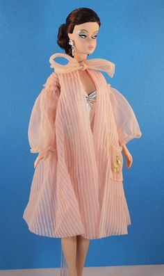 This vintage Barbie Nighty Negligee #965 is in great condition for its age. Only 2 small pin holes that are not visible unless you are looking for them.