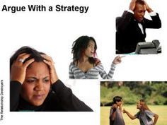 Relationships:  Always Argue With a Strategy