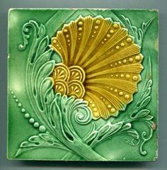authentic fauxhemian - walzerjahrhundert: Art Nouveau Majolica Ceramic...