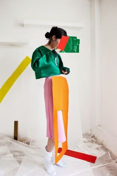 fashion & styling by nara lee, photo by milo belgrove, via eleonora borsato