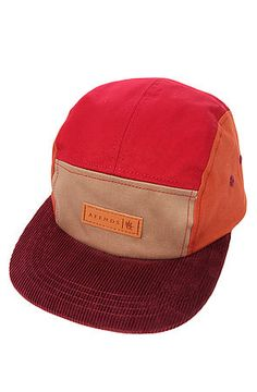 The Save Me Five Panel Hat in Red Combo by AFENDS http://www.karmaloop.com/product/The-Save-Me-Five-Panel-Hat-in-Red-Combo/360889 $32 Use Repcode ACE2CWB for 20% off OR WITH any Promocode for an extra 1% off.
