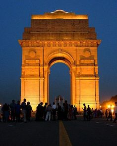 IndiaGate, New Delhi, India The monument was built in rememberance of all the soldiers who sacrfied there lifes in the world war, walls of India Gate has got the names and ranks of all the soldiers on it. Photo: Shashwat Nagpal.
