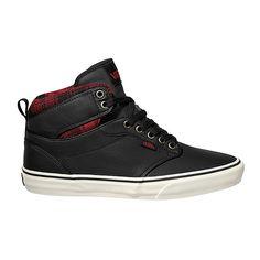 Vans Atwood Hi Sneaker (Flannel) schwarz/Marshmallow