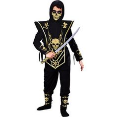 Skull Lord Ninja Child Halloween Costume