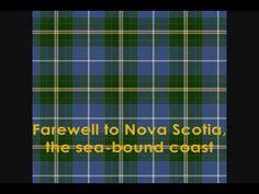 Farewell to Nova Scotia (Irish Rovers)