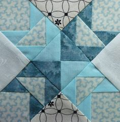 Farmer's wife: Wild Geese Quilt Block