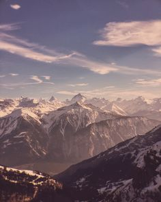 Panorama View from #Gemmi #Leukerbad photographed with #iPhone & @olloclip #Telelens Mars 2016 by @gioja
