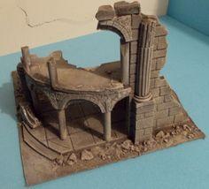 Ancient ruin - Osgiliath - Frostgrave - Fantasy  Wargames Scenery - Terrain…