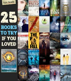 If you liked Divergent, you'll love... I've read a bunch of these already, and loved a lot of them. Of course, these lists never include indie titles...