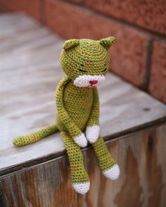 crochet cat pattern Patrón gratis.