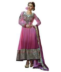 Loved it: Ajay And Vijay Pink Embroidered Faux Georgette Semi Stitched Anarkali Salwar Suit, http://www.snapdeal.com/product/ajay-and-vijay-pink-embroidered/698105784