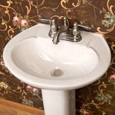 Hampshire Porcelain Pedestal Sink