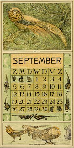 Theodoor van Hoytema, calendar 1915 september