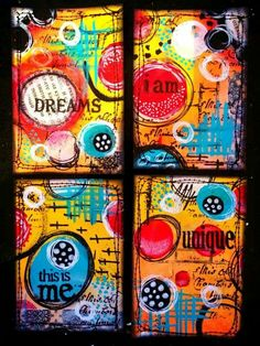 images about Artist Trading Cards : ATC & ACEO art cards on . Art Journal Pages, Journal Cards, Art Journaling, Artist Journal, Portfolio Design, Portfolio Ideas, Tracy Scott, Art Trading Cards, Artist Card