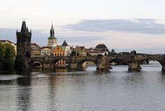 Pont Charles Vltava Prague