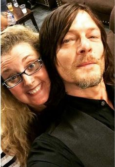Norman Reedus and fan
