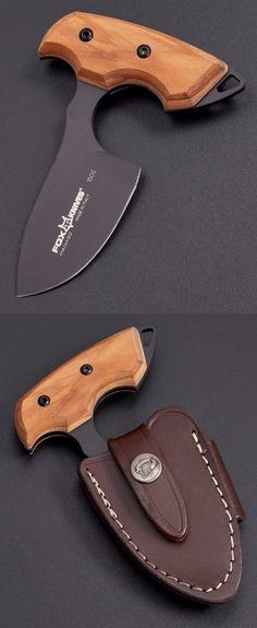 Fox Knives FOX EUROPEAN HUNTER Push Dagger Fixed Blade Knife @aegisgears
