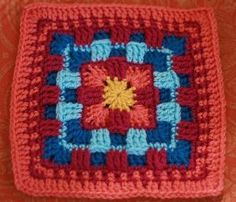 Brighter Daze Square: free pattern by opinionatedmuse
