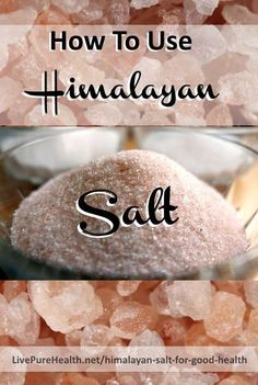 How To Use Himalayan Pink Rock Salt and crystals for awesome health benefits. My article covers the DIY uses of Himalayan Salt, including therapy & detox options, how to make and drink sole, using a salt inhaler and much more...
