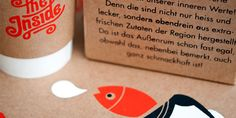 "Alexandra Turban, recent graduate from University of Applied Sciences Nuremberg created a branding/ packaging design for ""The Inside"" as her thesis project. ""The Inside"" is a casual restaurant @ The Dieline"