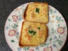 student food. - cheese toast, with chopped tomatoes onion, green chilli and a bit of coriander you can add chopped pepper if  you like.