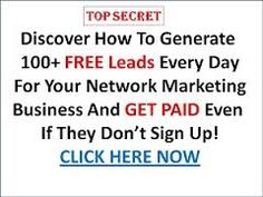 4 Ways to generate FREE Network Marketing Leads