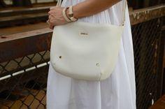 ReNika: Furla bag (Photo by Jitka Grundová) Furla Bag, Summer Of Love, Sunny Days, Sunnies, Handbags, Celebrities, Celebs, Totes, Sunglasses