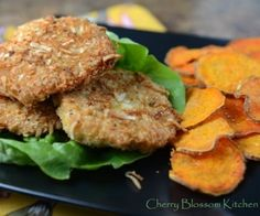 coconut crusted chicken patties paleo, whole30
