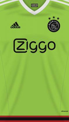 Afc Ajax, Soccer Poster, Soccer Kits, Football Wallpaper, Football Jerseys, Sports, Amsterdam, Table, Design