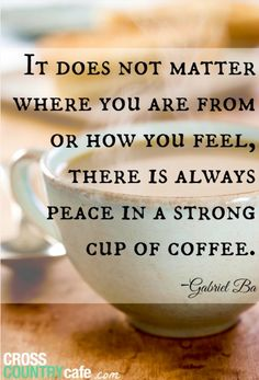 Whether your from Europe or Africa find your peace at vida e caffe