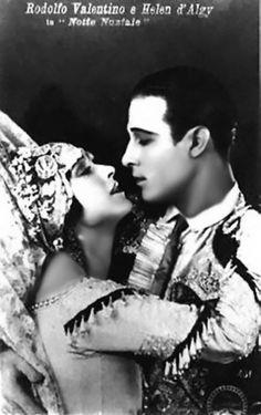 Rudolph Valentino & Helen d'Algy