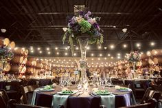 Absolutely stunning chic rustic wedding decor!!! Photography by Ashley Maxwell. AMAZING.
