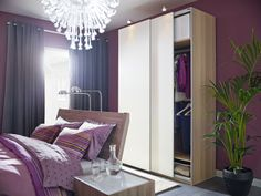 """Here's an """"off the wall"""" idea:  pull your bed away from the wall to make room for storage."""