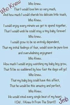 35 Best Baby Boy Poems Images Thoughts Bebe Thinking About You