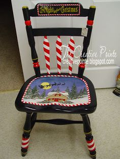 Idee per mobili funky – Recycled Furnitures Ideas Hand Painted Chairs, Whimsical Painted Furniture, Hand Painted Furniture, Funky Furniture, Paint Furniture, Recycling Furniture, Furniture Stores, Furniture Upholstery, Upholstery Repair