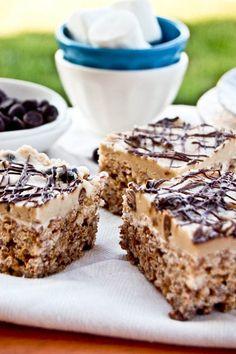 Cookie Dough Rice Krispie Treats?! Must try!