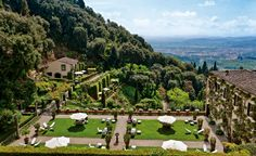 Villa San Michele is an old-world icon in Fiesole above Florence. luxury experiences! http://designlimitededition.com/
