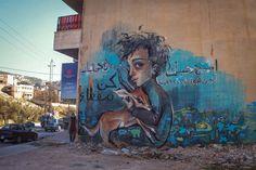 Herakut New Street Pieces - Za'atari, Jordan (Part II)