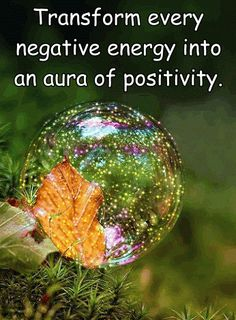 It is possible to live within an aura of positivity whilst having an appreciation of balance.