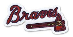 Atlanta Braves Tomahawk MLB Baseball Team Logo Patch