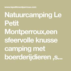 Camping Le Petit Montperroux in St. Everything Is Possible, Horseback Riding, Holidays, Vacations, Holidays Events, Equestrian, Horse Riding, Holiday, Vacation