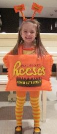 reese peanut butter cup  halloween custom | Reese's Peanut Butter Cup Terror-ific Kids' Costume Contest | Disney ...