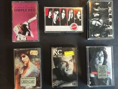 Music Cassette Tapes. From the 80s and 90s. Simply Red - A New Flame 1989. Gloria Estefan - Cuts Both Ways 1989. Noiseworks - Touch 1988. No major issues sighted but they are not mint by any means. | eBay!