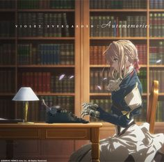 Violet Evergarden Original Soundtrack CD Import features music by artist Evan Call, who composes the original soundtrack from the TV anime series. Violet Evergarden Wallpaper, Violet Evergreen, Manga Anime, Anime Art, Violet Evergarden Anime, Kyoto Animation, Illustrations, Aesthetic Anime, Anime Characters