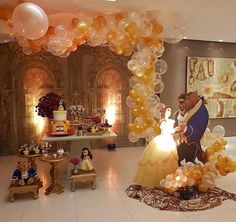 Quinceanera Party Planning – 5 Secrets For Having The Best Mexican Birthday Party Beauty And Beast Birthday, Beauty And The Beast Theme, Beauty And Beast Wedding, Beauty And The Best, Disney Beauty And The Beast, Quinceanera Decorations, Quinceanera Party, Birthday Party Decorations, Birthday Parties