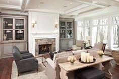 Designer Living Room by Hendel Homes on Wayfair