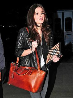 I want Ashley's bag. And her hair. And maybe her nose. Basically - good job Ashley Greene!