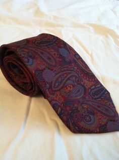 Gioiello Paisley seta Vintage DAKS Liberty London cravatta