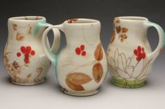 mike jabbur pottery - Google Search . But isn't this Elizabeth Robinson's work ?