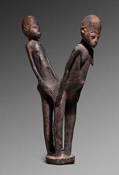 Lobi  Burkina Faso  H. 31 cm  Wood  Estimated Time: early twentieth century